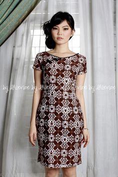 Lunar Dahayu Dress |qipao dress | simple qipao dress | batik qipao dress | DhieVine | Redefine You