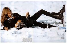 Morning Beauty | Iselin Steiro by Mikael Jansson Snow Fashion, Winter Fashion, Street Fashion, Vogue Paris, Ski Bunnies, Bunny, Alpine Style, Go Skiing, Ski Girl