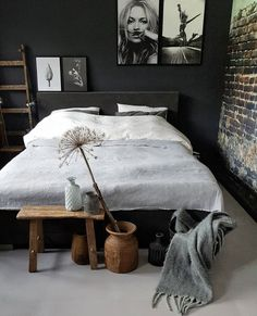 Home Interior Design, Interior Architecture, Home Bedroom, Bedroom Decor, Bedroom Styles, Luxurious Bedrooms, Apartment Design, Cabana, Luxury Bedding
