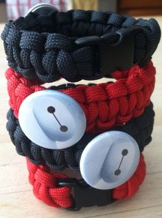 Big Hero 6  Baymax  Party Favors for 8  by ParacordTeamProducts