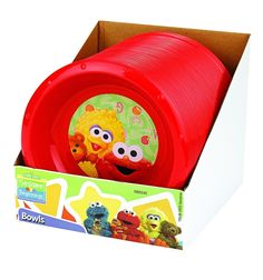 Blue and Yellow Spill-Proof Cup and Teether Sets in Red Sesame Street Terry Washcloths Red Elmo 11-pc Sets