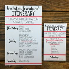 Bachelorette Party Itinerary Invitation New Bachelorette Itinerary Disneyland Bachelorette Party, Bachelorette Itinerary, Bachelorette Party Planning, Bachelorette Party Invitations, Bachelorette Weekend, Bachelorette Nashville, Team Bride, Wedding Weekend Itinerary, Thing 1