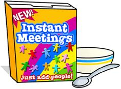 Education World: Instant Meetings Great ideas to add interest & fun to staff meetings through out the year