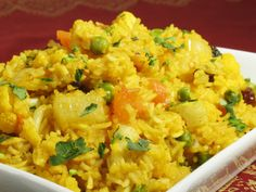 Masala Rice Recipe from Ayurveda Today, Journal of the Ayurvedic Institute