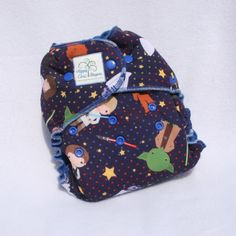 Faraway Galaxy One Size Windpro Hybrid Fitted Cloth Diaper with Cotton Velour Lining by HippyChicDiapers on Etsy https://www.etsy.com/listing/235234494/faraway-galaxy-one-size-windpro-hybrid