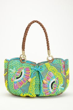 Look at the colours, oh my, THIS IS SUMMER ;)    Leopoldine Bag from Jamin Puech
