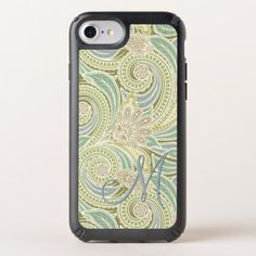 Custom Ornate Chic Pastel Paisley Floral Pattern Speck iPhone Case - antique gifts stylish cool diy custom