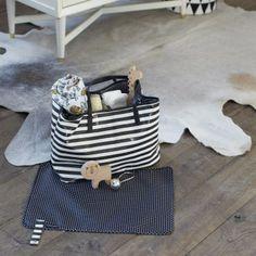 DwellStudio Bag    Madison Mini Stripe Tote