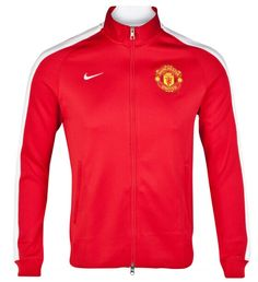 Thailand Quality Manchester United Red Jacket 2014/15