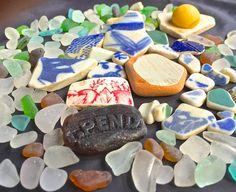 Beach Glass or Sea Glass of Hawaii beaches by SeaGlassFromHawaii