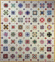 """Lucy Boston Patchwork of the Crosses - """"The Quilted Crow Quilt Shop, folk art quilt fabric, quilt patterns, quilt kits, quilt blocks Paper Piecing Patterns, Quilt Patterns, Quilting Projects, Quilting Designs, Quilting Tutorials, Quilting Ideas, Cross Quilt, Sampler Quilts, Miniature Quilts"""