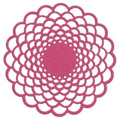 Floral Doily die by Lifestyle Crafts. Compatible in lead die-cutting machines.