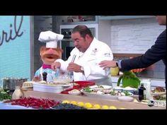 Emeril Lagasse Meets The Muppets' Swedish Chef - http://mystarchefs.com/emeril-lagasse-meets-the-muppets-swedish-chef/