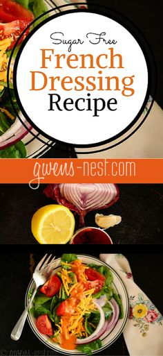 French Dressing Recipe Sugar Free - Gwen's Nest