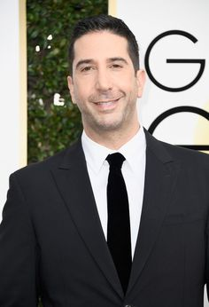 David Schwimmer Photos - Actor David Schwimmer attends the Annual Golden Globe Awards at The Beverly Hilton Hotel on January 2017 in Beverly Hills, California. Beverly Hilton, The Beverly, Lionel Ferro, David Schwimmer, Ross Geller, January 8, Golden Globe Award, Friends Tv Show, 1980s