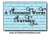 Thousand Word Thursday - I used to participate in this a long time ago! I need to start again