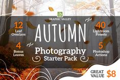 Autumn Starter Pack-Overlays Presets by GraphicValley on Lens Blur, Menu List, Kinds Of Colors, Motion Blur, Autumn Photography, Summer Photos, Photoshop Photography, All The Way Down, Photo Colour