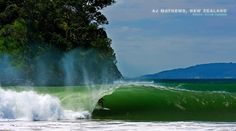 New Zealand. Truly Beautiful. Waves