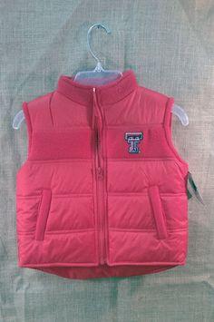 Texas Tech Childrens Vest
