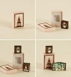 Miniature book, etsy