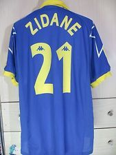 3e3effb19 Zidane france champions league 1998 vtg juventus italy football shirt kappa  xl