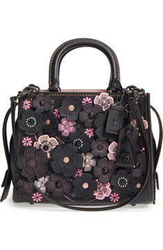 Coach Jes Double Zip Leather Crossbody (IM/Black) – The Fashion Mart Coach Purses, Coach Handbags, Purses And Handbags, Coach Bags, Pink Handbags, Prada Handbags, Luxury Handbags, Fashion Handbags, Designer Handbags
