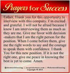 prayer for success on pinterest prayer for prayer and