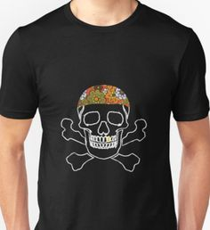 Gangsta Skull Unisex T-Shirt Skull, Unisex, Halloween, Mens Tops, T Shirt, Shopping, Fashion, Supreme T Shirt, Moda