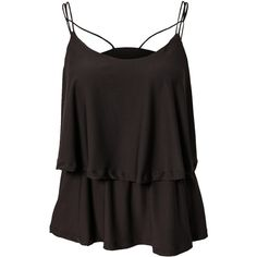 Vero Moda Limit Top ($38) ❤ liked on Polyvore featuring tops, brown, womens-fashion, vero moda, brown tops and tall tops