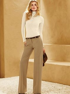Love the casual elegance of this.  Simple and so striking.  Pants $69.50
