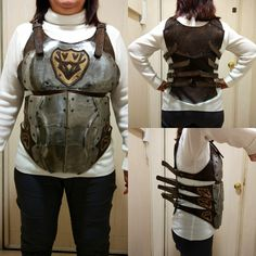 Larp female armor. On sale in my etsy shop 😉.
