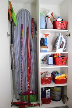 null Ikea Laundry Room, Pantry Laundry Room, Laundry Room Organization, Laundry Room Design, Laundry In Bathroom, Small Laundry, Closet Storage, Locker Storage, Hidden Storage