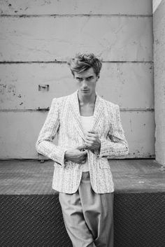 Clément Chabernaud Dons Antonio Azzuolo for the Lens of Eric Guillemain
