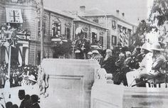 At a public ceremony in Nicosia, Britain declares Cyprus a British Crown Colony on 1 May 1925.