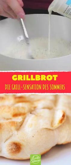 Er rührt Joghurt mit einem Löffel ins Mehl. Das Ergebnis? DIE Grill-Sensation des Sommers.