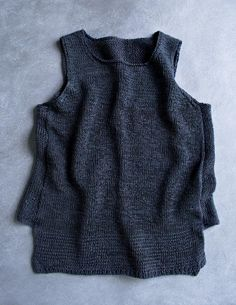 Notched Hem Tank Top | The Purl Bee