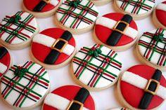 Laura's Custom Cookies Gallery: Santa