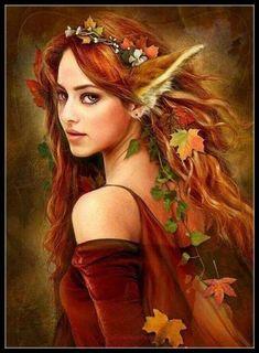 "Elves Faeries Gnomes: ~ ""Kitsune,"" by at deviantART. Magical Creatures, Fantasy Creatures, Beautiful Creatures, Elfen Fantasy, Elves And Fairies, Fantasy Fairies, Fox Girl, Beautiful Fairies, Beautiful Fantasy Art"