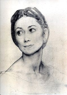 Sketch by Pietro Annigoni