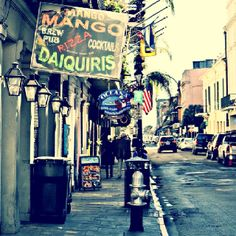 Favorite place I've ever been. NEW ORLEANS.