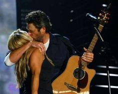 cutest couple in country music. miranda lambert & blake shelton. adorable.