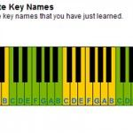 Free Basics Lesson teaches you how to play piano: Learn Piano Key Names