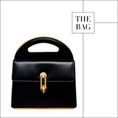"Alexander Wang for Balenciaga's new ""Maillon"" bag was a standout on the runway, spring 2014"
