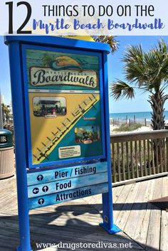 12 Things To Do On The Myrtle Beach Boardwalk If you're taking a vacation to Myrtle Beach, you'll want to check out the Myrtle Beach boardwalk. Find 12 things to do there from www. Myrtle Beach Boardwalk, Myrtle Beach South Carolina, North Myrtle Beach, North Carolina, Beach Vacation Outfits, Myrtle Beach Vacation, Beach Trip, Vacation Ideas, Beach Vacations