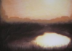 Memory 6-2004, 50x70, soft pastels on paper