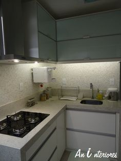 Pastilha na cozinha
