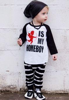 Cupido es para niños Valentín los Camisa San mi de Homeboy 0Yw6qfOT