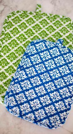Life is too short for ugly potholders ~ Hen House Linens