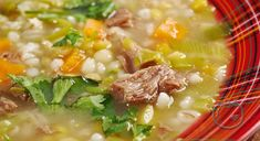 Best Soup Recipes, Chowder Recipes, Korma, Biryani, Knoephla Soup, Tuscan Bean Soup, Chili Soup, Barley Soup, Bowl Of Soup