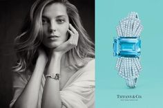e40fa370d6532 Daria Werbowy for Tiffany & Co Jewelry Campaign 2014 by Michael Thompson